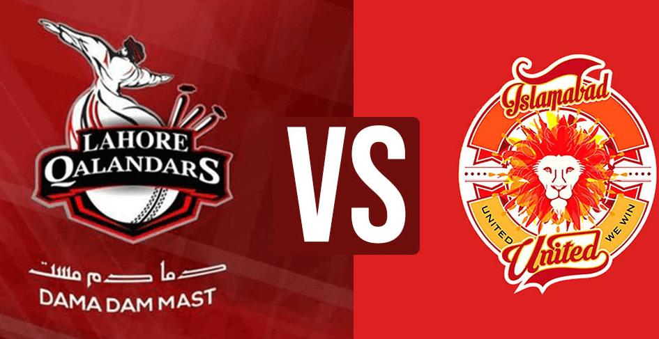 Live Streaming Lahore Qalandars Vs Islamabad United Match 27, (PSL4), 09  March 2019