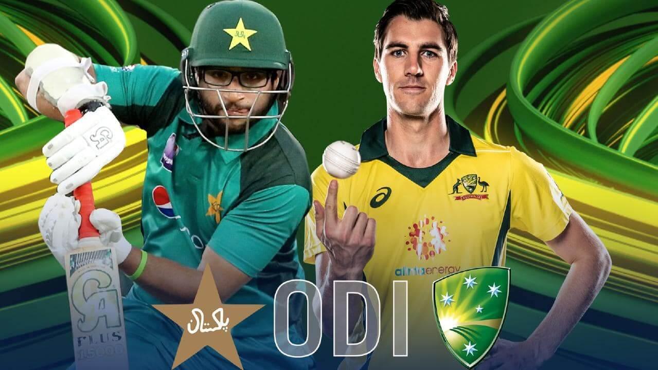 Live Score Pak Vs Australia Cricket Match