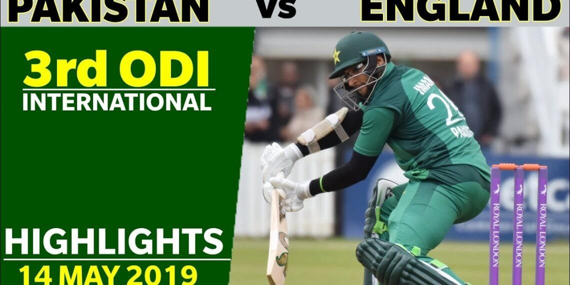 Pakistan Vs England 3rd Odi Match Highlights Full Hd Gifincric